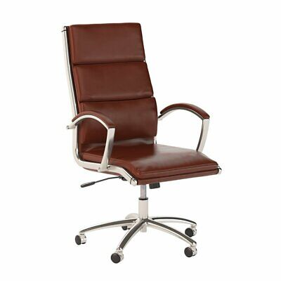 Bush Business Furniture Series C Elite High Back Leather Executive Office Chair
