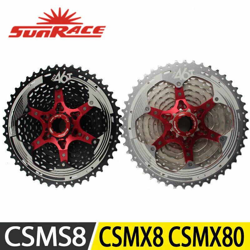 SunRace CSMS8 CSMX8 CSMX80 Cassette 11 Speed MTB Bicycle 11-42T 11-46T 11-50T