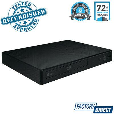 LG BP250 BLUE RAY CD PLAYER DISC AUDIO HD VIDEO HDMI MOVIES 1080p MEDIA PLAYBACK
