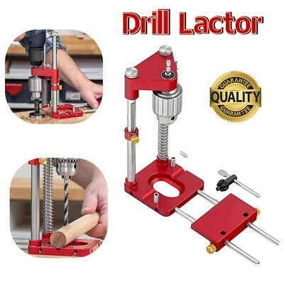Woodworking Drill Locator Adjustable Punch Mini Bench Drill Template Guide Tools