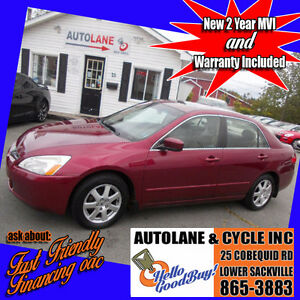 2005 Honda Accord EX Loaded Up! Leather interior $4995