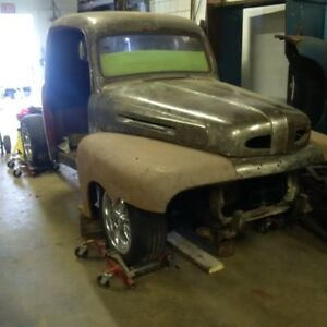 1948 ford f1 rat rod project truck with ontario ownership