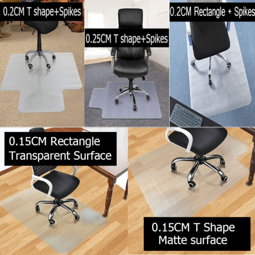 Thick Chair Mat for Hardwood Floor Carpet Transparent PVC Ho