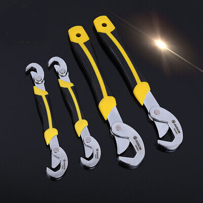 1PC 2PCS Multi-function Universal Quick Snap'N Grip Adjustable Wrench Spanner 1 Multi Function Wrench