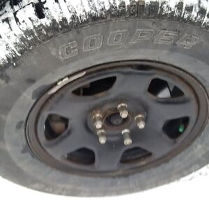 Last chance brand new (2 weeks old) snow tires (studdable)