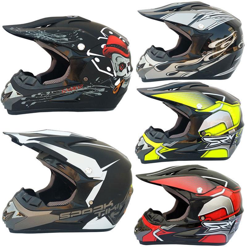 Motorcycle Helmet Mountain Bike Full Face Helmet Off-road He