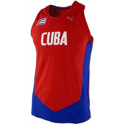 Puma Mens Cuba Lightweight Competition Running Singlet Vest 514355 All Sizes New