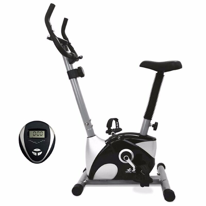 JF100 Exercise Bike 12 Months Warranty Brand NewDaddy Supplementsin Drayton, NorfolkGumtree - JF100 Exercise Bike Brand New 12 Months Warranty Was £99.99 Now £79.99 Resistance 10 levels of magnetic resistance Monitor Time, distance, speed, calories and heart rate. Flywheel 4kg two way Flywheel. Adjustable Seat height, handlebar angle and...