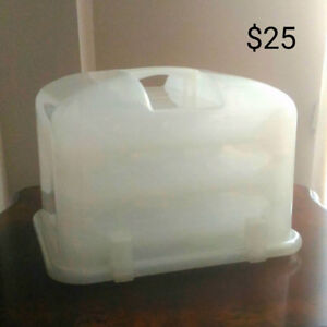 36-Cupcake White Transparent Plastic Carrier/Caddy and more