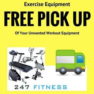Free Pick Up of your Unwanted Workout Equipment