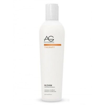 AG Hair Therapy Renew Clarifying Shampoo 8 oz (Old Packaging) Mild pH 4.5-5.5 ()