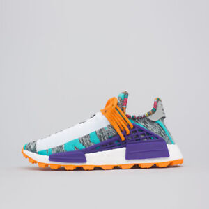 NMD HU Pharrell (Solar Pack) - Pink & Turquoise (Size 9) IN HAND