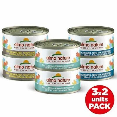 Almo Nature Multipack Tuna Selection Natural Wet Cat Food 6 x 70g