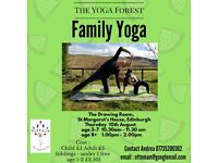 Family Yoga Workshops with The YOGA Forest on TOUR