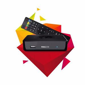 MAG254 IP TV BOX