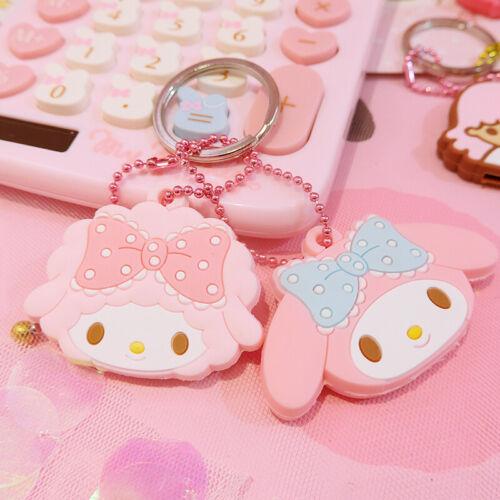 Cute My Melody Key Cap Case Cover Keychain Keyring Girl