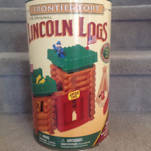 Lincoln Logs Frontier Fort Building Set