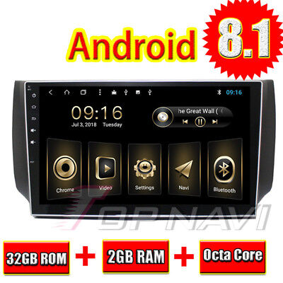Android 81 Car GPS Stereo Fit For Nissan Sylphy 2012 2016 Auto Radio Multimedia
