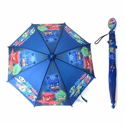Licensed PJ Masks: Owlette Gekko Boys Umbrella Handle for kids