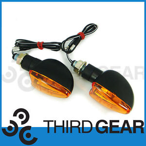 Pair of Halogen Indicators: Fits Triumph Daytona 600 675 900
