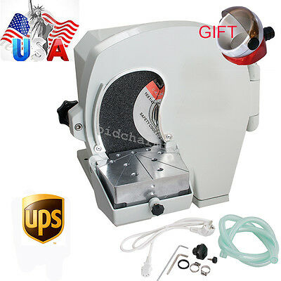 Usa Wet Dental Model Trimmer Abrasive Disc Wheel Gypsum Arch Lab Equipment 500w