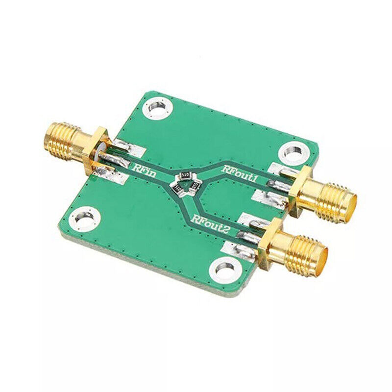 1Pcs RF Microwave Resistance Power Divider Splitter 1 to 2 Combiner SMA DCP_wuXG