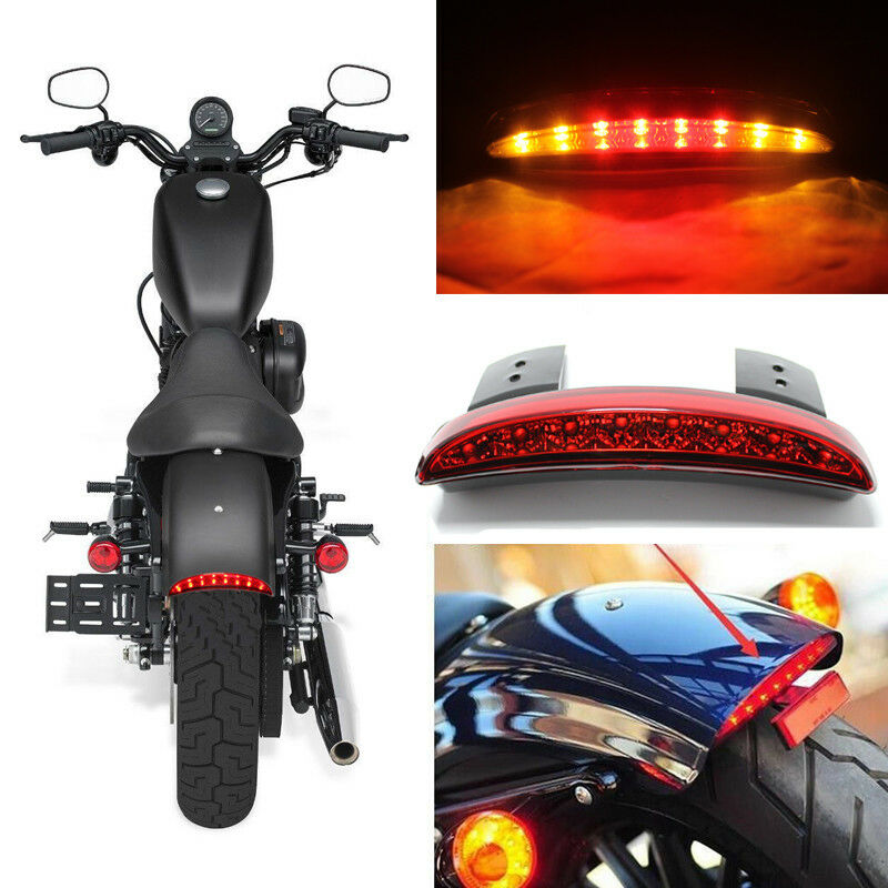 Details about Motorcycle Rear Turn Signal LED Tail Light For Harley Dyna  Street Bob 2013-2018