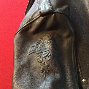 Manteau de cuir Harley Davidson West Island Greater Montréal image 3