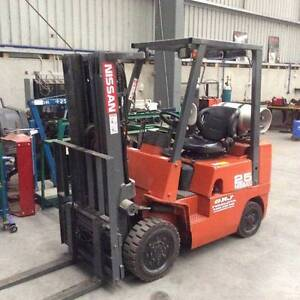 NISSAN FORKLIFT J SERIES 2.5T - Finance or (*Rent-To-Own *$73 pw) Ferntree Gully Knox Area Preview