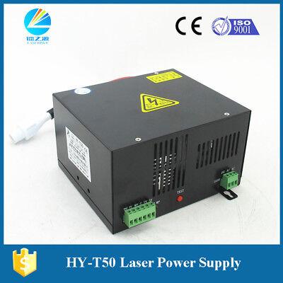 50watt Laser Engraving Machine Power Supply For Co2 Laser Tube Hy-t50