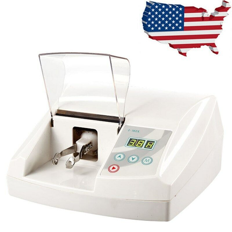 Digital High Speed Dental Amalgamator Amalgam Capsule Mixer Laboratory Equipment