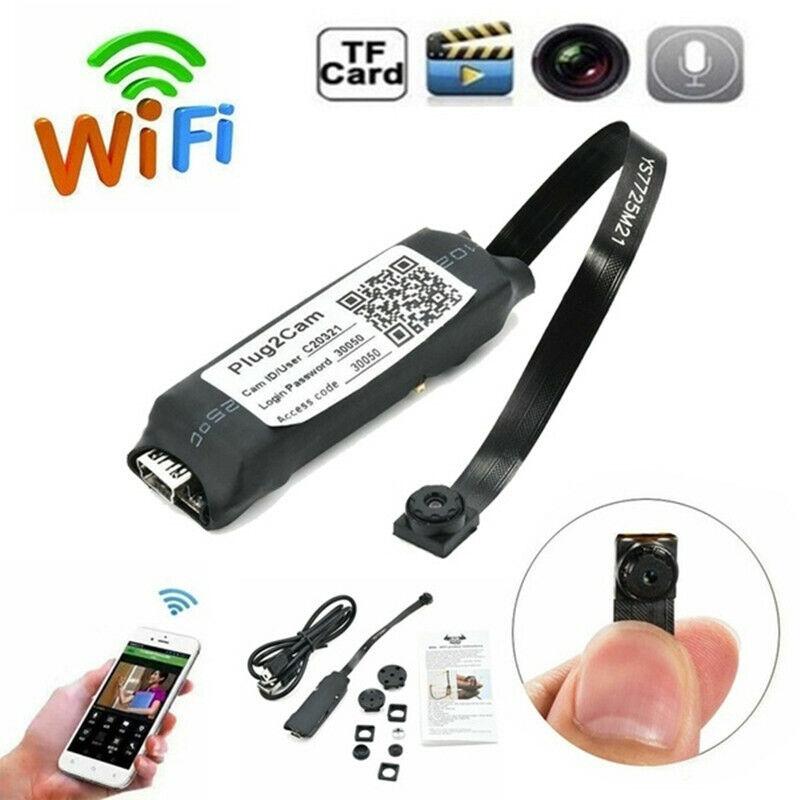 1080P Full HD Night Vision Mini Wireless WIFI IP Spy Camera Hidden DIY Module US