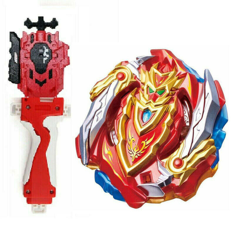 Beyblade Burst B-100 Spriggan Requiem B-88 LR Launcher+B-123 RED GRIP SUPER Z