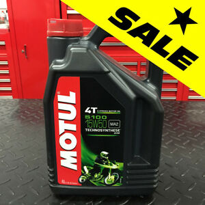 ★★ SUPER SALE ★★ Motul 5100 Synthetic Blend 15W50 Motorcycle Oil