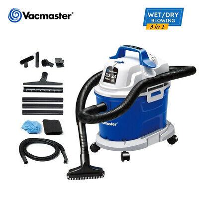 Vacmaster Wet Dry Car Vacuum Cleaner 3.2 Gallon 2.5 Peak Hp Shop Vac