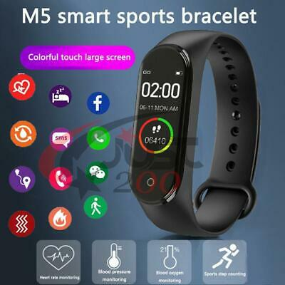New Smartwatch Band M5 Controllo Ossigeno Battito Pressione Fitness Multisport
