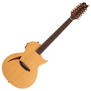 ESP LTD TL-12 12 cordes Electro acoustique guitare, nat