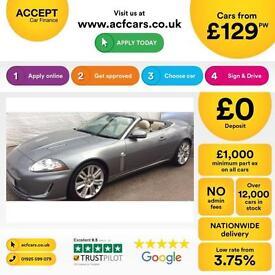 Jaguar XKR FROM £129 PER WEEK!