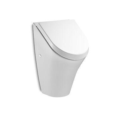 VBChom® Urinal Zulauf von hinten Keramik Modern Absenkautomatik-Deckel ROCA NEXO