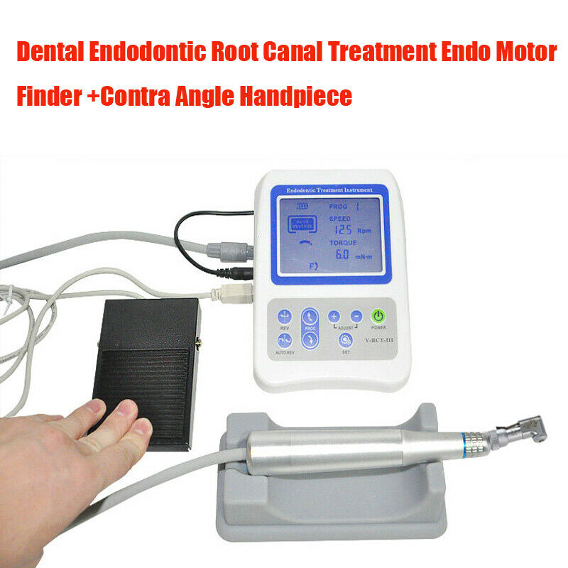 Dental Endodontic Root Canal Treatment Endo Motor Finder Apex Locator Handpiece