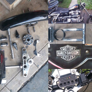 Tons of aftermarket sportster parts