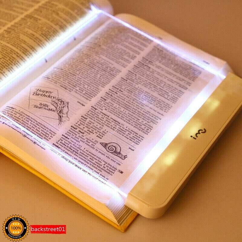 Premium Travel I-Mu Portable LED Read Panel Light Book Reading Lamp Night Vision