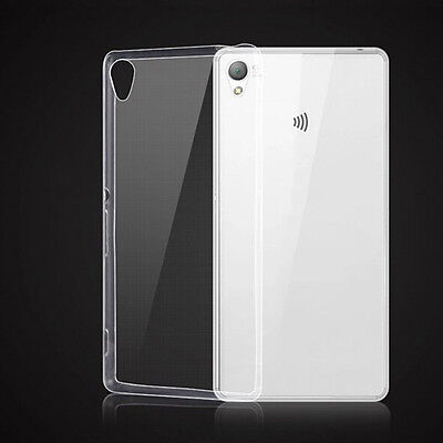 Soft Silicon Tpu Transparent Ultra Thin Gel Back Case Cover For Sony Xperi Ec