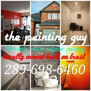 The painting guy-your next painting project starts here