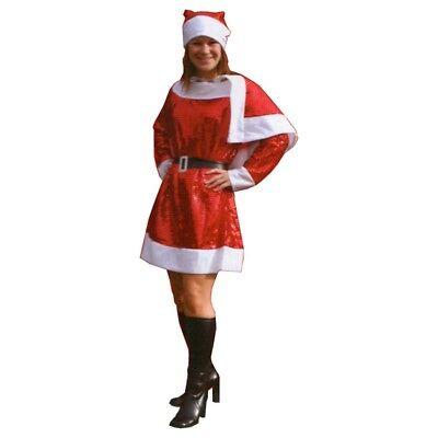 Mrs Claus Dress Up (Christmas Mrs Santa Claus Dress Up Costume One Size Fancy Dress)