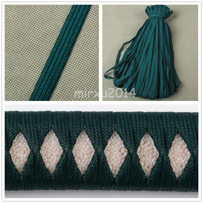 Synthetic Silk Ito Sageo for Japanese Samurai Katana Wakizashi Tanto sword