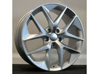 "18"" Seat FR Style Alloys & Tyres. Suit Audi A3,Volkswagen Caddy,Golf,Jetta, Passat,Seat Leon 5x112"