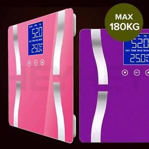 Digital Body Fat Scale White/Purple/Pink - Three Colors Melbourne CBD Melbourne City Preview