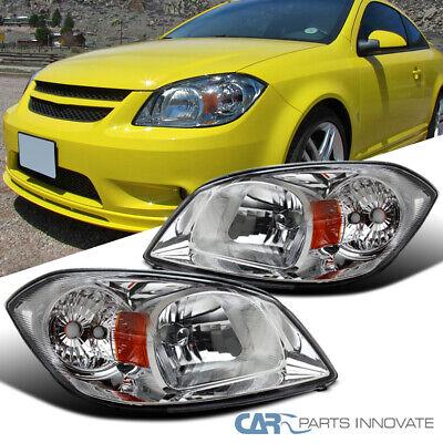 Pontiac 05-06 Pursuit 07-09 G5 05-10 Cobalt Clear Lens Headlights Head Lamps