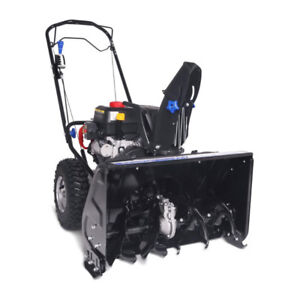 "Souffleuse 24"" 212cc 2 phases avec traction"
